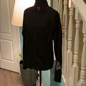 Athleta purple yoga jacket